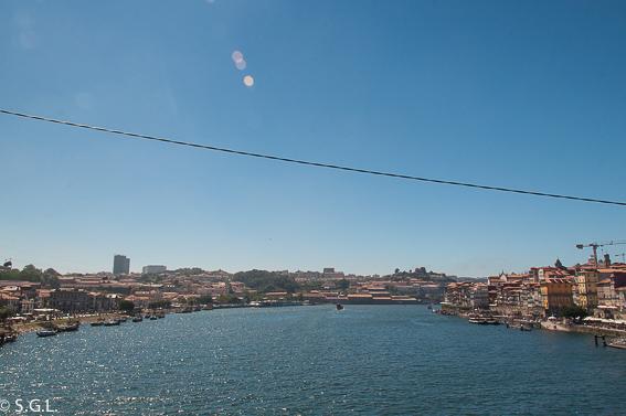 Que ver en oporto en un dia. Rio Duero desde el puente Luis I