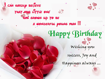 Happy Birthday Wises Cards For friends: wishing you success, joy and happiness always