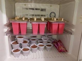 Bahan untuk membuat ice cream