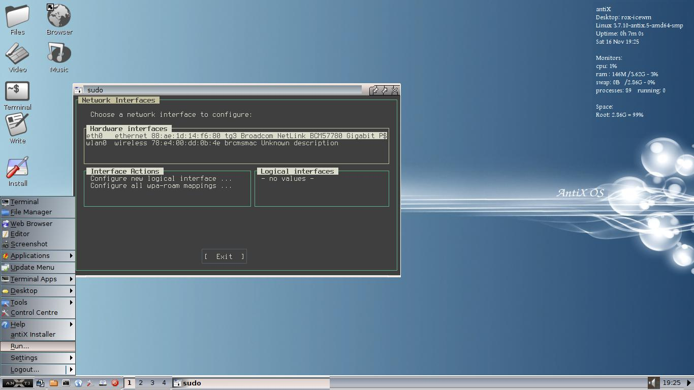 Linux, BSD, and everything else   : AntiX 13 2 - More Modern But