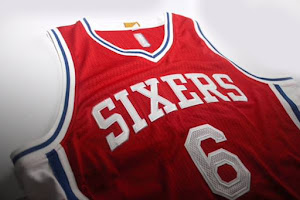 Philadelphia 76ers Rebranded Alternate Red Jersey
