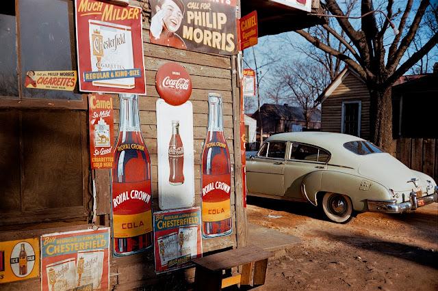 Fotografia a colori ci Werner Bischof, USA, 1954
