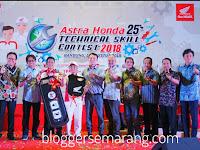Teknisi AHASS Astra Motor Jateng Raih Juara AHTSC 2018