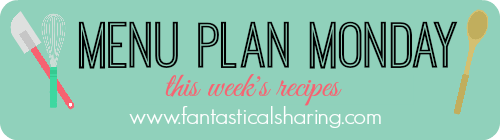 Menu Plan Monday for Sept 26, 2016 // What I'm making this week #menuplanmonday #mealplan
