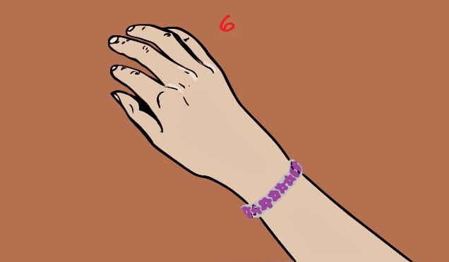 braccialetto-fatto-in-casa-facile-da-realizzare-colla-a-caldo
