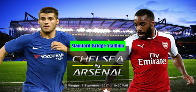 Prediksi Taruhan Bola 365 - Chelsea vs Arsenal 17 September 2017