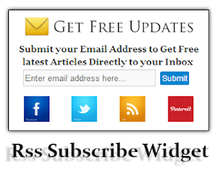 all of bloggers similar to proceed their spider web log keen correct Add Unique Rss Subscribe Widget For Blogger