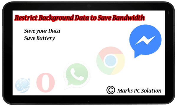 Restring Background Data of your Mobile