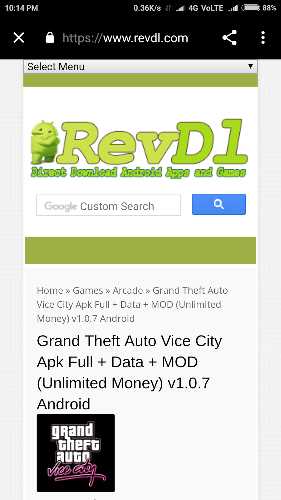 Android Device Me GTA Vice City Game Kaise Download Kare