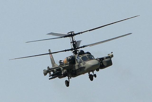 Gambar 05. Foto Helikopter Tempur Kamov Ka-52 Alligator
