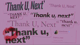 This is an image of Thank you next Guitar Chords by Arina Grande