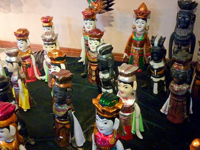 Marionetas de Agua, princesas y príncipes