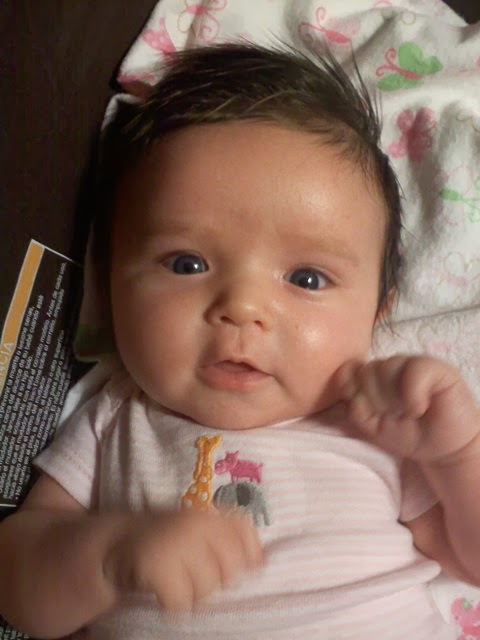 Gallery For > Baby Girl With Blue Eyes And Brown Hair