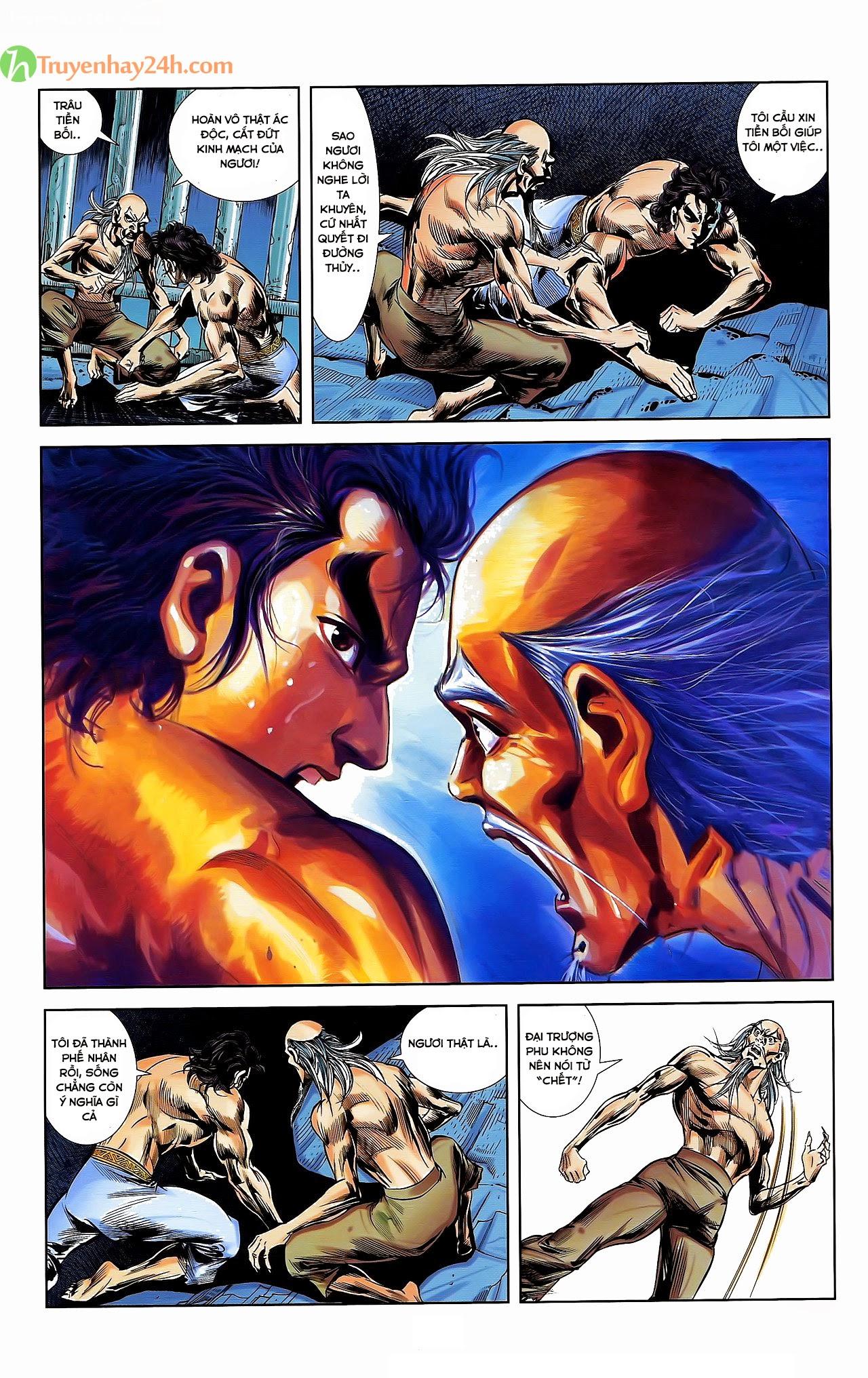 Tần Vương Doanh Chính chapter 30 trang 11