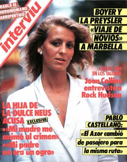 La Ficha Rosa Del Trivial Algunas Portadas De Interviú Año 1985