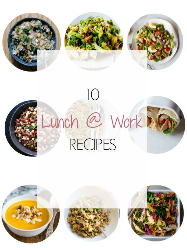 Easy, packable recipes for lunch at work - Ioanna's Notebook