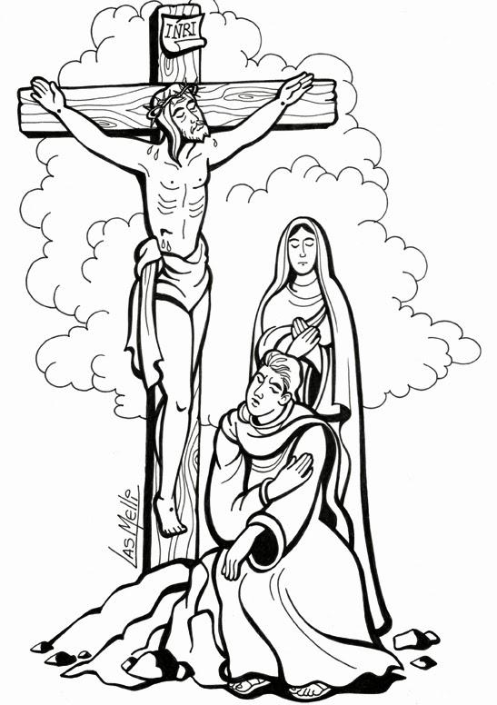 Una Cruz Para Dibujar Imagui