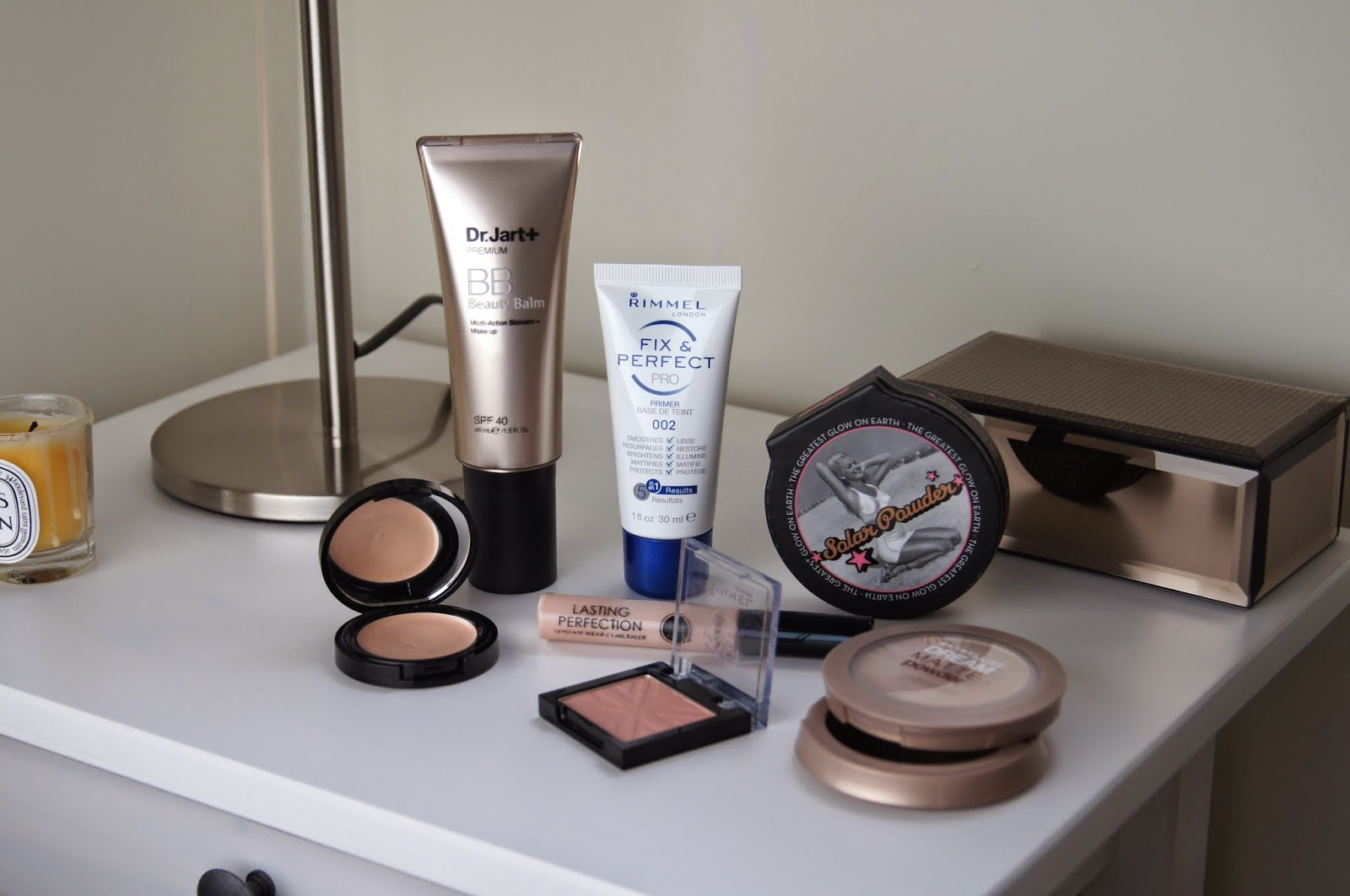 ford complexion base makeup products drugstore back to school look