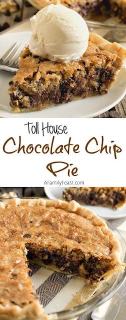 Toll House Chocolate Chip Pie Recipe