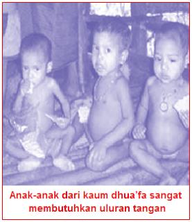 Makalah - Artikel Tentang Menyantuni Dhuafa