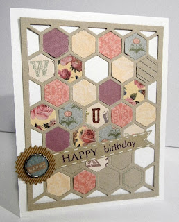 Papertrey Ink Happy Hexagon cover sheet
