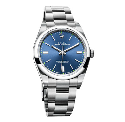 photo of 2015 2016 Rolex Oyster Perpetual 39mm with Blue Dial