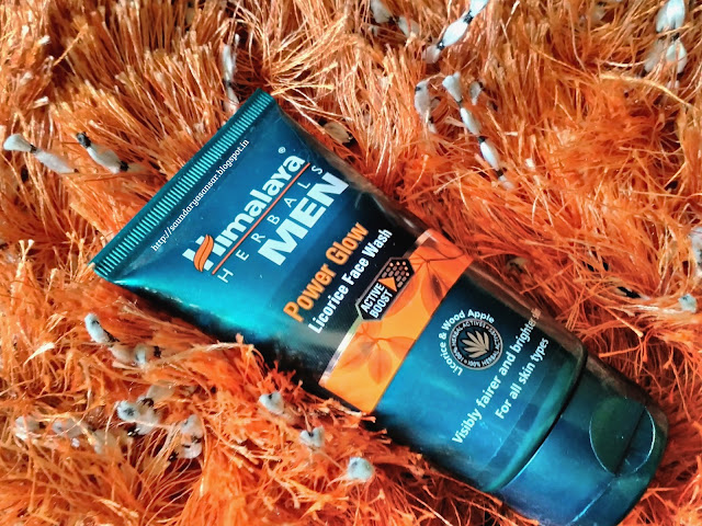 Himalaya Herbals Men: Power Glow Licorice Face Wash Review