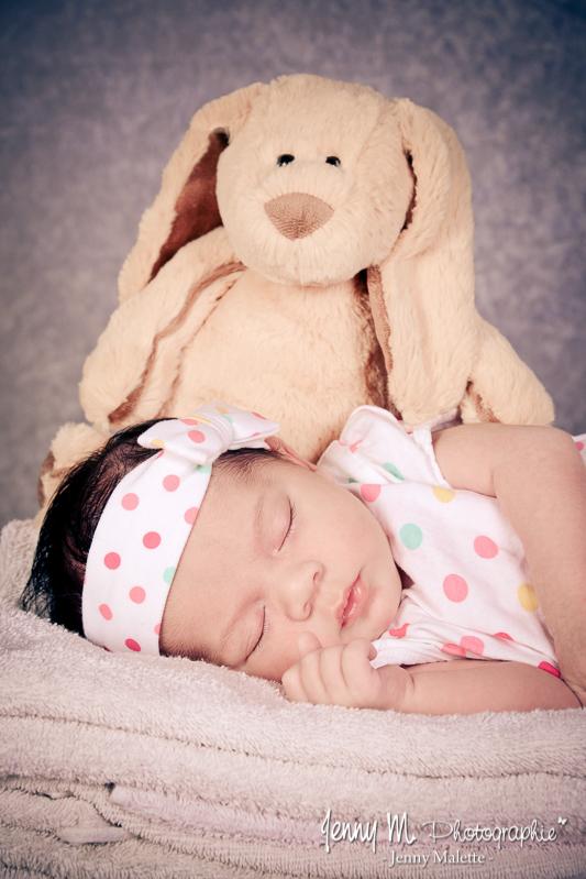 portrait bébé photo naissance studio