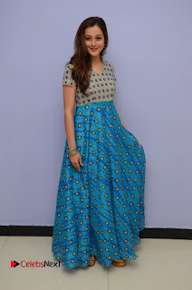 Priyal Gor Pictures in Long Dress at Chandamama Raave Teaser Launch