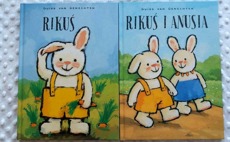 Rikuś. Rikuś i Anusia - Guido van Genechten