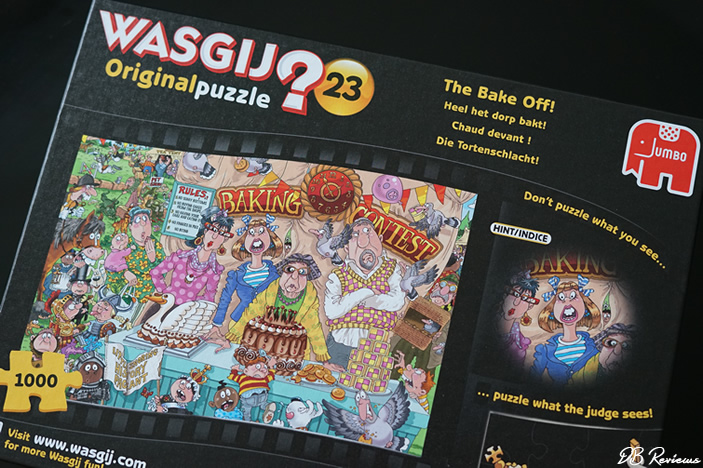 Wasgij Original 23 The Bake Off 1000 Piece Jigsaw Puzzle