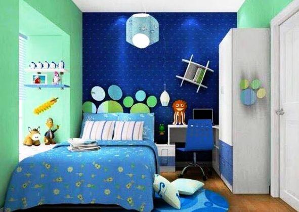 Warna Cat Kamar Tidur Anak Laki-Laki Minimalis