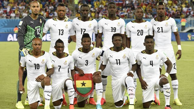 Ghanaian Black Stars Departed To Namibia For Friendly