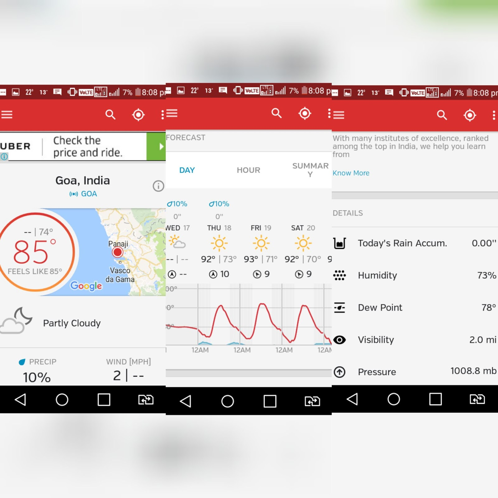 Top 5 Best Weather Apps For Android 2019 Appy Android