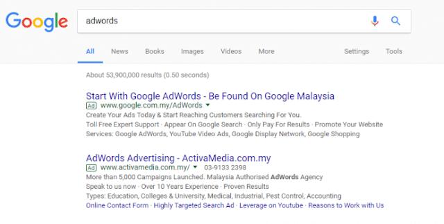 Panduan Buat Iklan Google AdWords Boost Prospek Bisnes Anda!