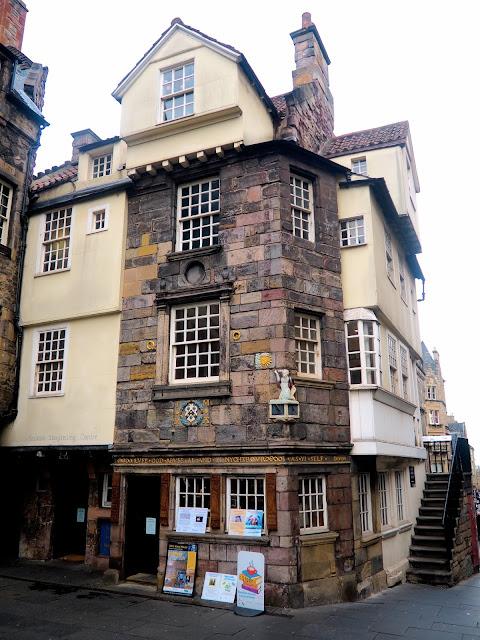 John Knox House & Scottish Storytelling Centre, Royal Mile, Edinburgh