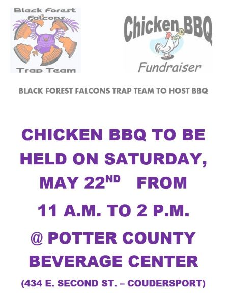 5-22 Blackforest Trap Team Chicken BBQ