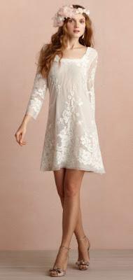 vestidos de noiva curtos e simples