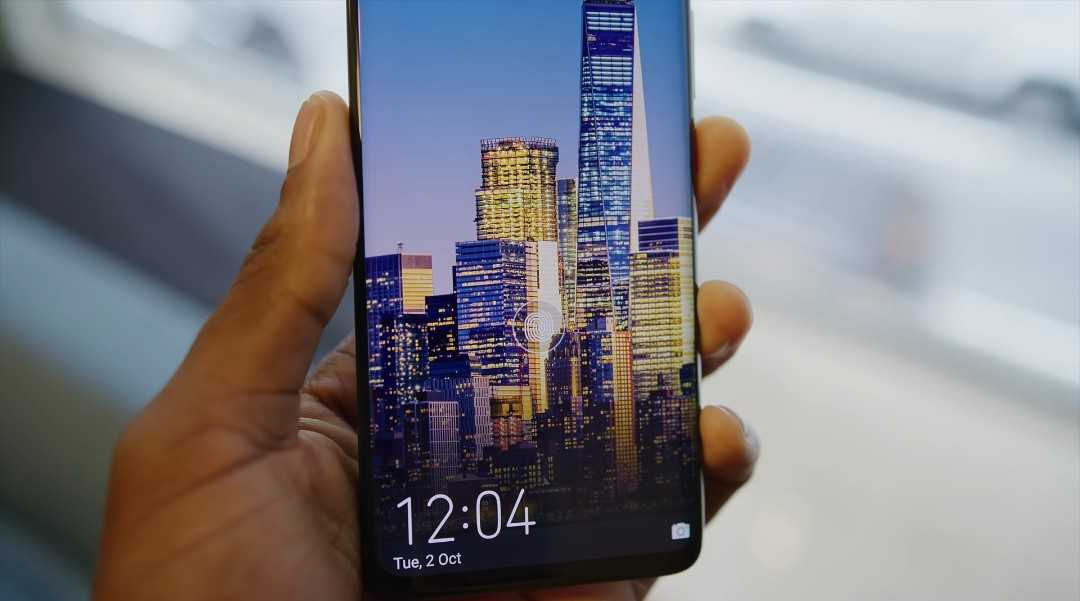 Huawei Mate 20 Pro In-display Fingerprint Reader
