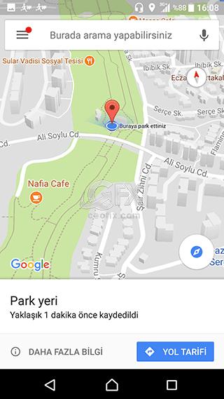 park yeri daha Fazla bilgi