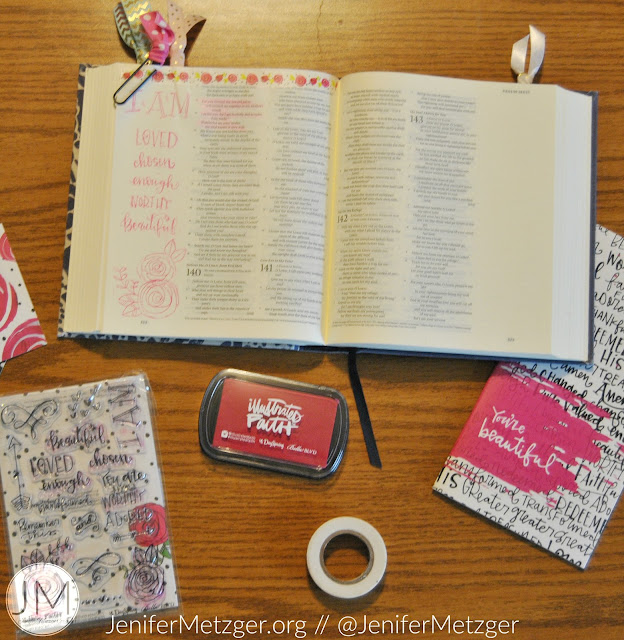 Bible journaling is fascinating but can also be scary. Can you really Bible journal? #Biblejournaling #illustratedfaith #dayspring
