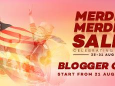 Merdeka!Merdeka! Blogger Contest by Lazada