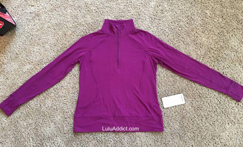 0ba50131e Lululemon Addict  Rush Hour Half Zip Try On Comments
