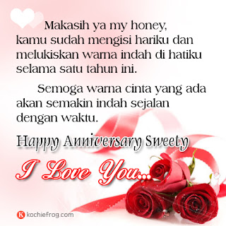 Kata Kata Ucapan Happy Anniversary Romantis