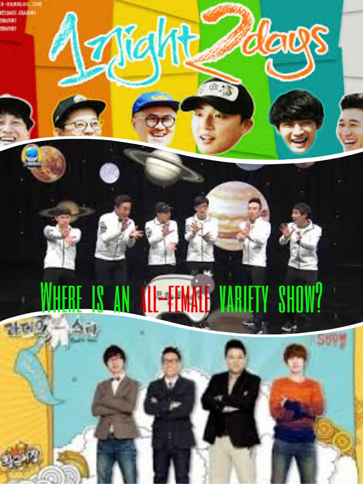 All in korean show