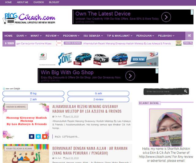 7 Lifestyle Blogger Pilihan 2018