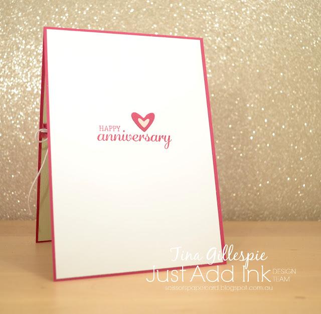scissorspapercard, Stampin' Up!, Just Add Ink, Happy Birthday Gorgeous, Best Birds, Subtle DTIEF