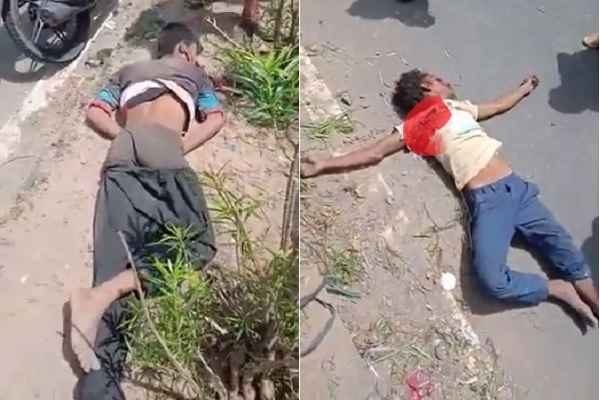 faridabad-sector-30-shramik-vihar-bypass-raod-accident-2-dead