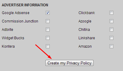 Privacy Policy Generator - Wikipedinet
