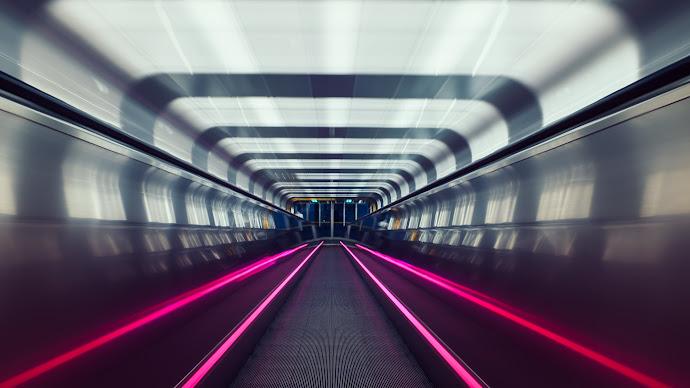 Wallpaper: Oslo Subway Tunnel